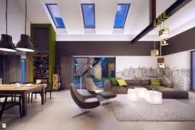 Future Home Interior Design Hansel And Gretel Salon Styl Nowoczesny Plasterlina Lampy Na