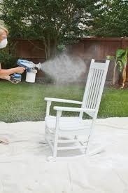 outdoor furniture rental how to use a paint sprayer to restore furniture