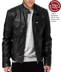 buy biker jacket sword biker leather jacket for men buy online free return