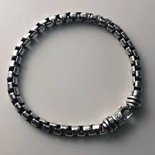 silver chain bracelet ebay images David yurman chain bracelet ebay JPG