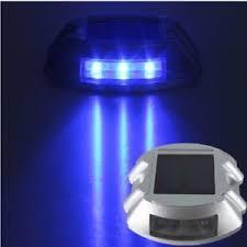 solar led dock lights solar dock lights led marker voona 4 pack blue led deck lights for