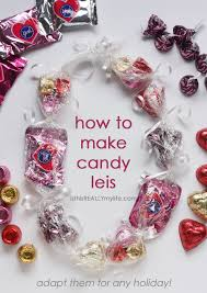 candy leis how to make candy leis