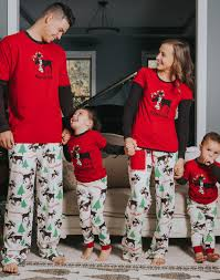 family matching pajamas for lazy one