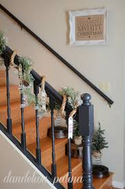 Painting A Banister Black 40 Gorgeous Christmas Banister Decorating Ideas Christmas