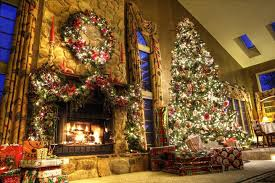 beautiful decorated christmas trees and this floral christmas tree