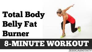 8 minute total body belly fat burn full length abs exercise