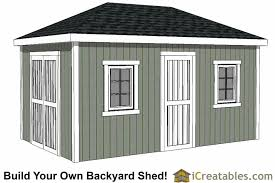 Hip Style Roof Design Hip Roof Shed Plans Shed Designs With Hip Roofs
