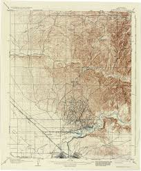 County Map Of Arizona by