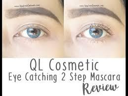 Maskara Ql ql cosmetic eye catching 2 step mascara review