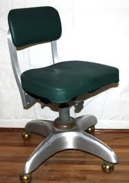 vintage industrial goodform tanker office chair vinyl by vintagead