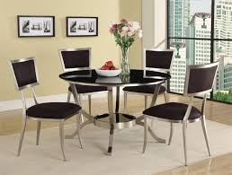 Modern Round Dining Table Sets Black Round Dining Table Shelby Knox
