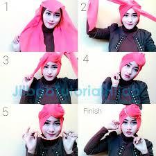 tutorial hijab pesta 2 kerudung hijaber tutorial style hijab segi empat