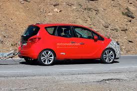 opel meriva 2014 spyshots 2014 opel meriva facelift autoevolution