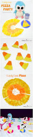 candy corn pizza craft and more pretend play fun artsy momma