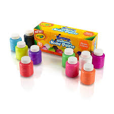 crayola 10ct washable neon paint set toys r us australia join