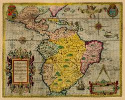 The Americas Map by The Americas North U0026 South America