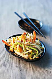 cuisiner les germes de soja recette salade orient express aux germes de soja