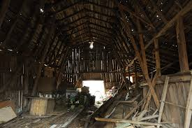 Barn Demolition In Which The Queen Tears Down A Barn With A Little Help