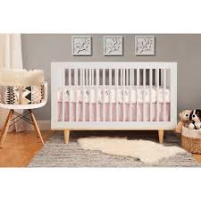 Infant Convertible Cribs Baby Mod Marley 3 In 1 Convertible Crib White And