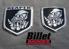 custom dodge ram badges the beast 13up dodge grille shield polished with black and