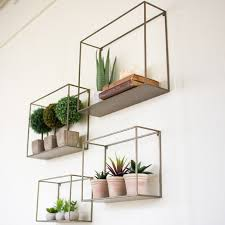 home interior shelves metal wall shelf ideas bring in a taste of industrial style into