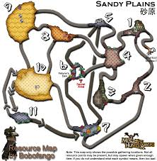Resource Map Image Desert Resourcemap Png Monster Hunter Wiki Fandom