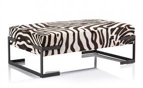 Zebra Chair And Ottoman Homeofficedecoration Zebra Chairs And Ottoman Center Table