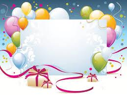 Border Designs For Birthday Cards Happy Birthday Present Powerpoint Templates Border U0026 Frames