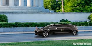 toyota limo should the next presidential limo be a tesla