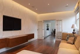 Fitted Living Room Furniture Bespoke Cabinets  Wall Units - Contemporary fitted living room furniture