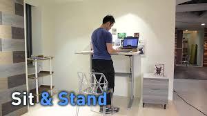 singapore standing desk ergonomic workstation youtube