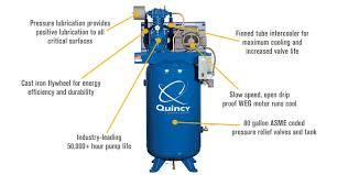 quincy duplex air compressor wiring diagram wiring diagrams