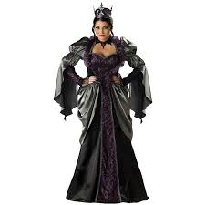 queen of the damned women ladies fancy dress party black queen