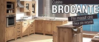 meuble cuisine bois recyclé cuisine bois massif cuisine ouverte moderne cuisines francois