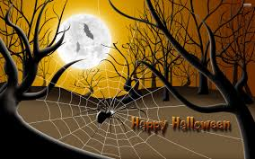 halloween spiders background spiderweb halloween wallpaper by