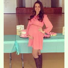 baby shower dress for to be to be maternity for fall time baby shower