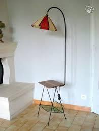 ladaire table scoubidou meuble vintage 1960 décoration