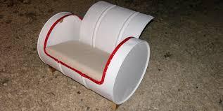 diy barrel chair youtube