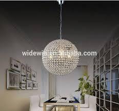 Vintage Crystal Chandeliers Globe Shape Vintage Crystal Chandeliers Decoration Ceiling Light