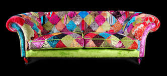 Chesterfield Sofa Patchwork Patchwork Sofa By Ginny Avison Fresh Design Blog
