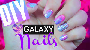 how to diy pink galaxy 80 u0027s inspired disco nails pinterest