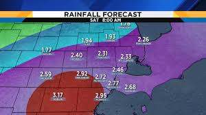 Rainfall Totals Map Metro Detroit Weather Plenty Of Rainfall Expected Rest Of Week