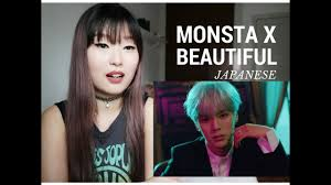 monsta x 몬스타엑스 beautiful japanese version reaction reação