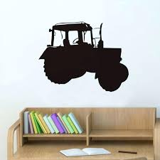 wall ideas scrabble wall art tutorial pre cut wood from the farm tractor vinyl wall sticker children truck wall art removable waterproof decals kids room wallpaper home