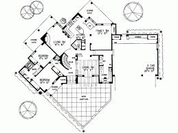 adobe home plans eplans adobe house plan two santa fe 2797 square