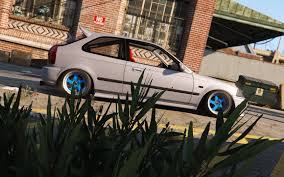 stanced cars forza horizon 3 honda civic ek9 stance tuning template gta5 mods com