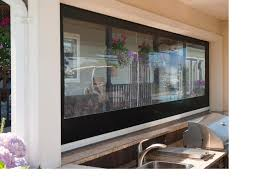 Clear Vinyl Roll Up Blinds Outdoor by Clear Vinyl Screenwarehouseusa