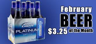 Bud Light Wallpaper Beer Of February Bud Light Platinum Rick U0027s Tavern U0026 Grille