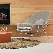 saarinen large womb chair by knoll yliving furniture