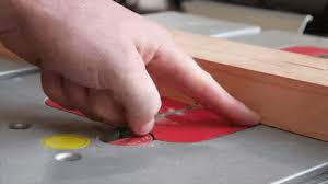 Table Saw Injuries Watch Flesh Detecting Table Saw Technology Save A Finger Bosch Reaxx